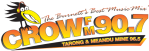 Logo for Crow FM90.7