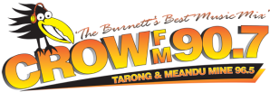 logo for Crow FM 90.7