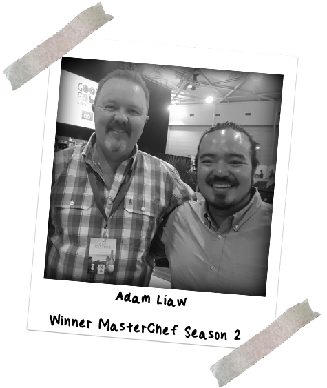 Picture of Chef Jason Ford and Adam Liaw