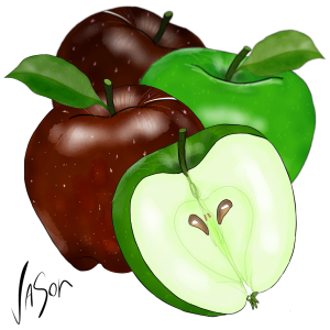 Picture of apples