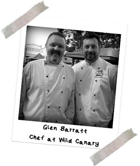 Picture of Chef Jason Ford and Glen Barratt