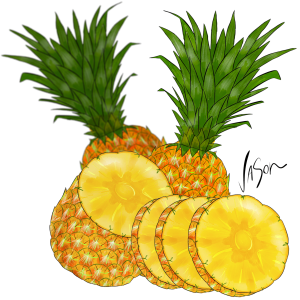 Picture of pinapples