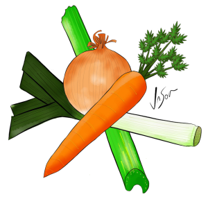 Picture of mirepoix