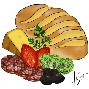 Picture of antipasto