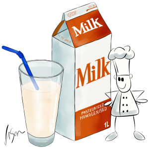 Picture of milk