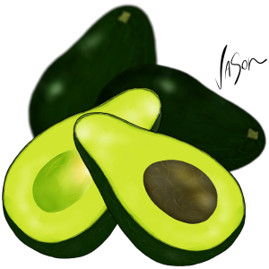 Piocture of avocado