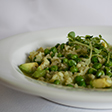 Link to recipe for pea and avocado risotto