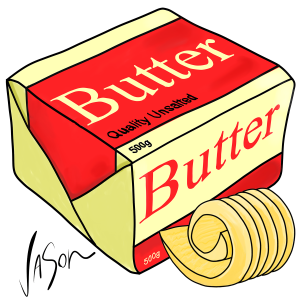Picture of butter