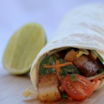 Link to recipe for sticky pork belly wrap