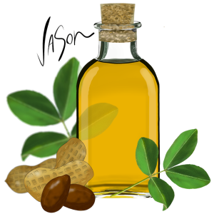 Picture of peanut oil