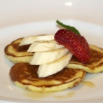 Pumpkin and Banana Pancakes Square 640x640