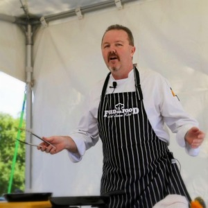 Image of Chef Jason Ford. Image Tobi Loftus, South Burnett Times.