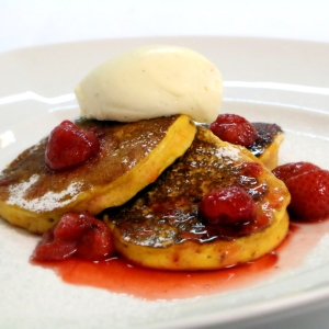 Image of pumpkin and buttermilk pancakes