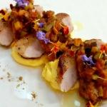 link to recipe for Pork, pumpkin ratatouille & creamy polenta