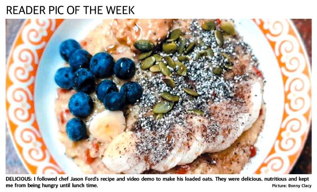 Image of Loaded porridge